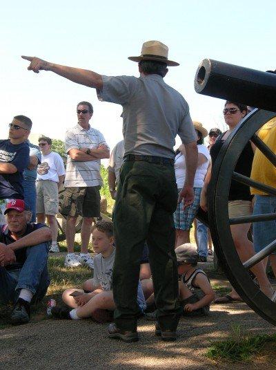 2019 Schedule of Gettysburg Park Ranger Talks