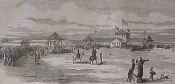 York Fairgrounds during the Civil War