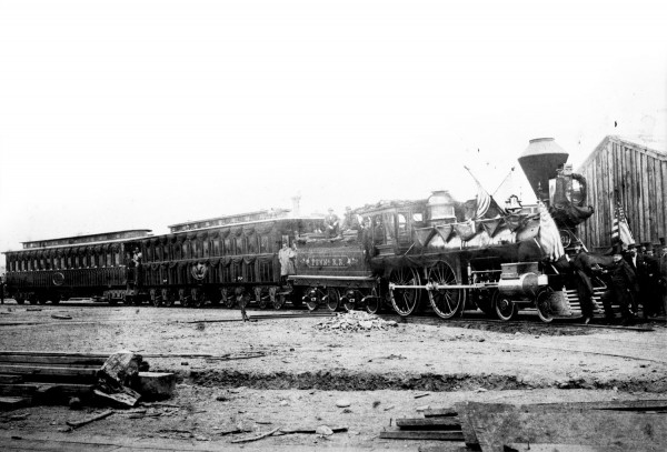 155 years ago today: the Lincoln Funeral Train