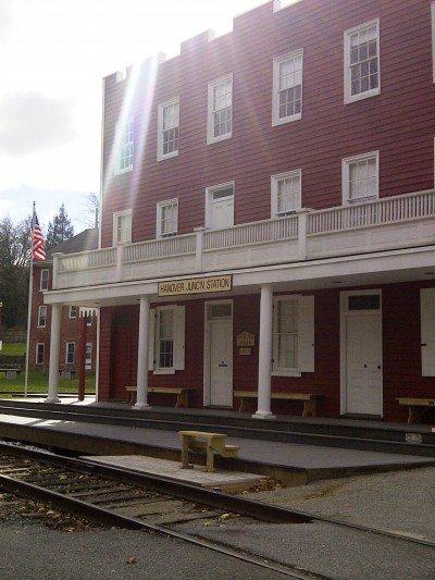 Schedule of porch talks at historic YorkCo train depots!