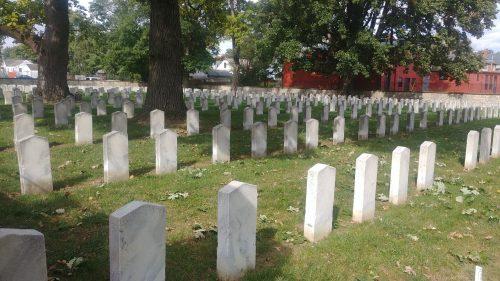 Confederate grave stones