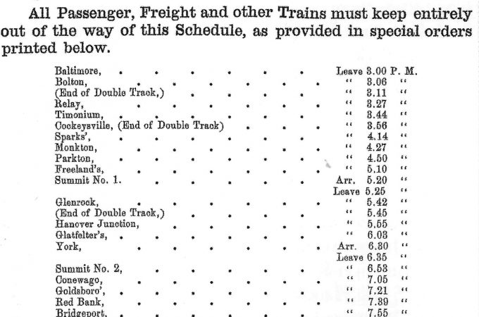 154 years ago today: Lincoln's funeral train passed through York County