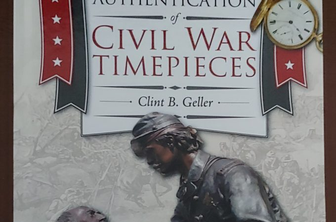 Fascinating new book on Civil War timepieces!