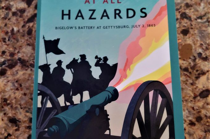New Gettysburg historical fiction about the 9th Mass. Battery