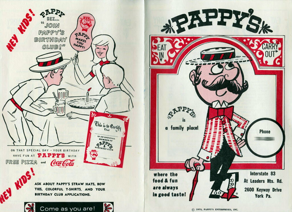 Image result for pappy's pizza