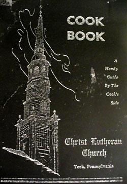 Christ Lutheran Church cookbook cover