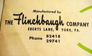 Close-up on The Flinchbaugh Company logo