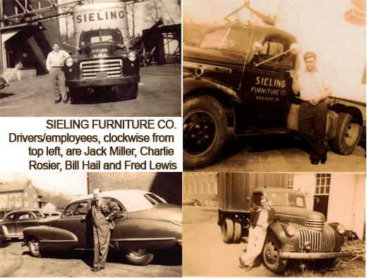 Sieling Furniture drivers and employees