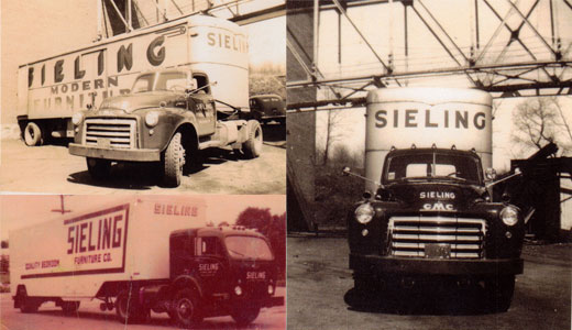 Sieling Furniture trucks