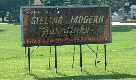 Sieling Furniture Company billboard