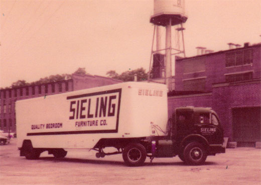 Truck at Sieling Furniture