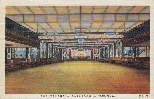 Valencia Ballroom postcard