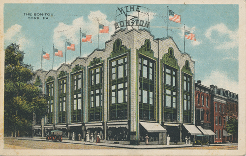 Bon-Ton downtown postcard
