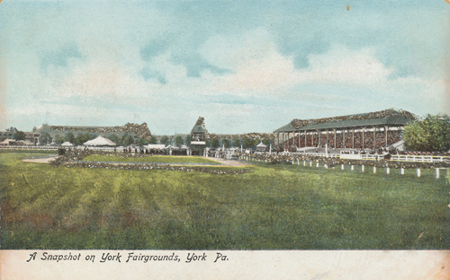 Postcard of York Fairgrounds