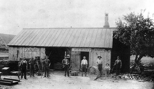Foundry in Ben Roy