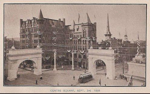 York centennial arches