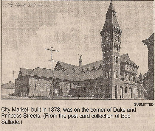 The former City Market in York, PA