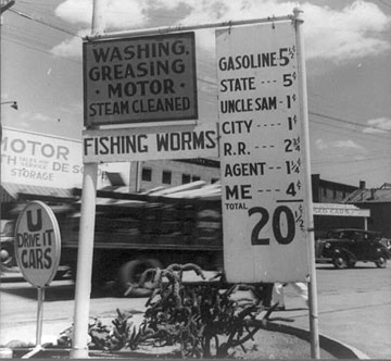 Gas at 20 cents a gallon