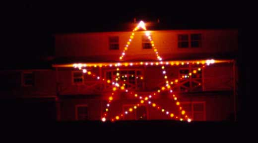 Ronald Klimes shared this 1970 photo of the star he used to light up on his Springettsbury Township home.