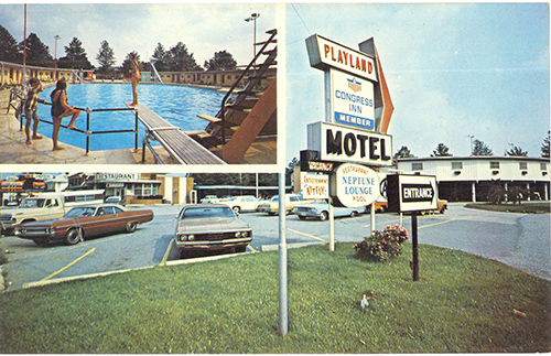 Cindy Roach of Dover shared this postcard from her collection, depicting the former Playland motel, pool and roller rink complex in Springettsbury Township.
