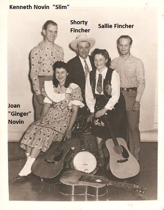 Audrey Lerew shared this photo she found at the York County History Center, with names she added of some of the people pictured. The man at right could possibly be Clyde Fogel, who played with the Finchers and Novins, or one of many other musicians who worked with the group.