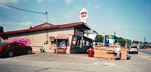 Shirley (Coble) Hite shared this photo of a North Pole ice-cream shop in Chittenango, New York. She grew up going to Ernie McCall's North Pole in the Weigelstown area of Dover Township.