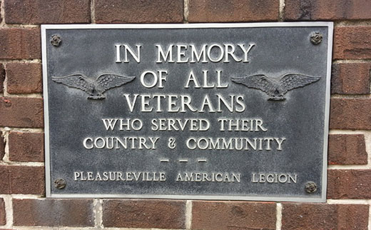 John Allen, a longtime reader, showed the current location of a former East Market Street veterans' plaque, at the Victory Fire Company No. 2 station behind UPMC Pinnacle Memorial Hospital.