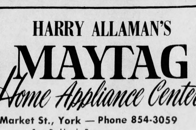Readers remember Allaman Maytag in York