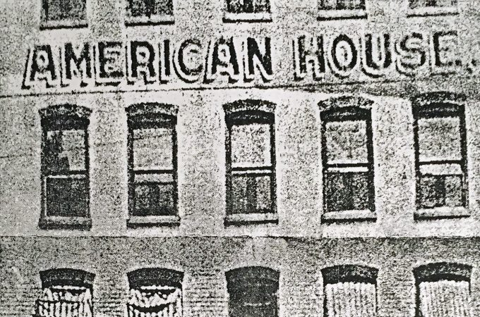 Reader Helen Z. Loucks recalls downtown York's American House