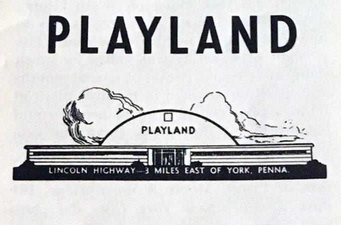Brochure details the story of Playland roller rink