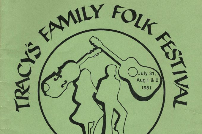 "Remembering Tracy's Family Folk Festival and ""Frank and Mary"""