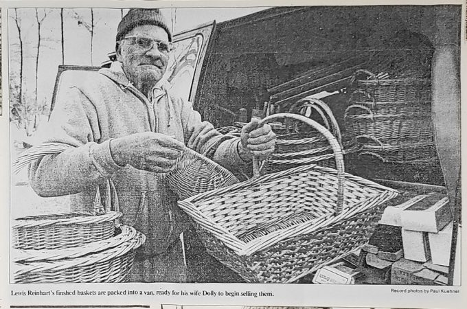 Basket making thrived on York's Bullfrog Alley