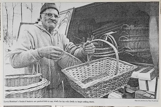 Basket making thrived on York's Bullfrog Alley