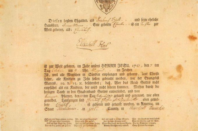 Early York printer Solomon Meyer–printing and politics