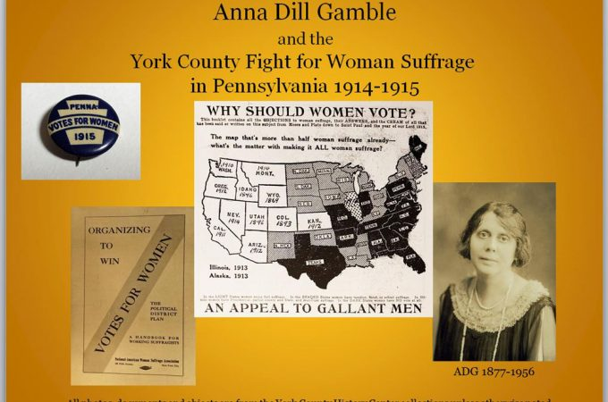 Want to know more about York County suffragists?