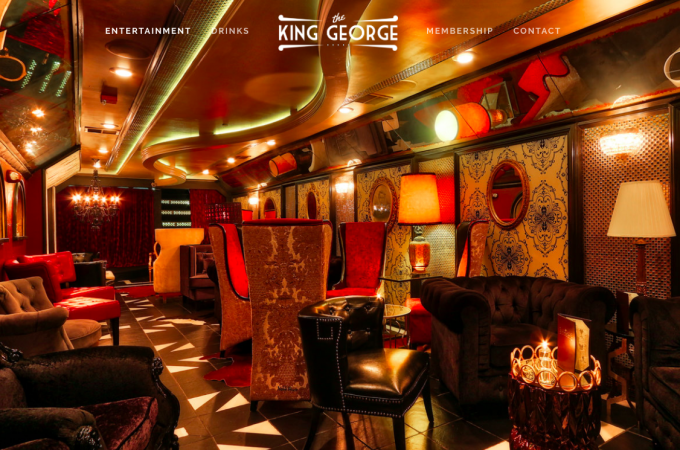 Legal King George Club in the lower level of Tutoni's restaurant resembles speakeasy