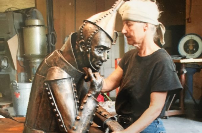 Dallastown artist Lorann Jacobs reveals how she builds bronze sculptures