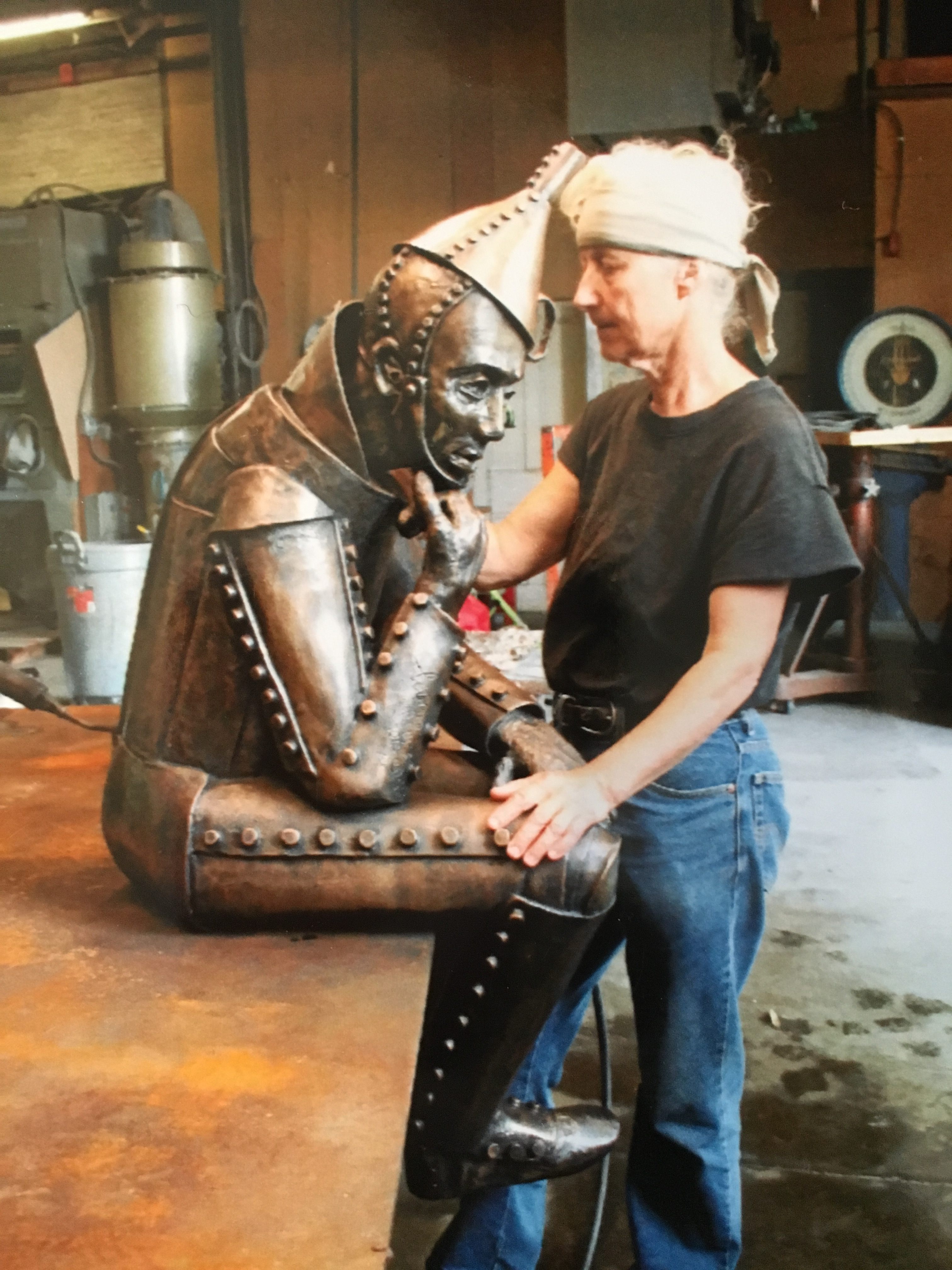 The Art of Sculpture Welding From Concept to Creation