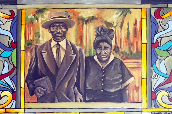 Ophelia Chambliss' painting on the black experience brings insight into York's past