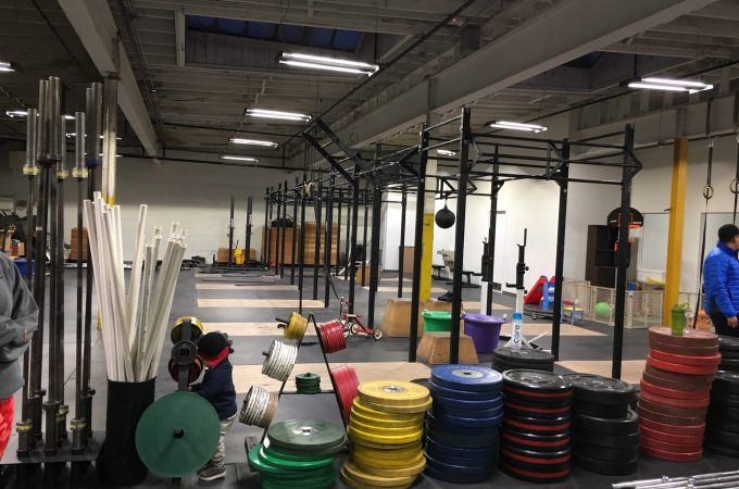 Crossfit York's up and running in WeCo's Doll Building