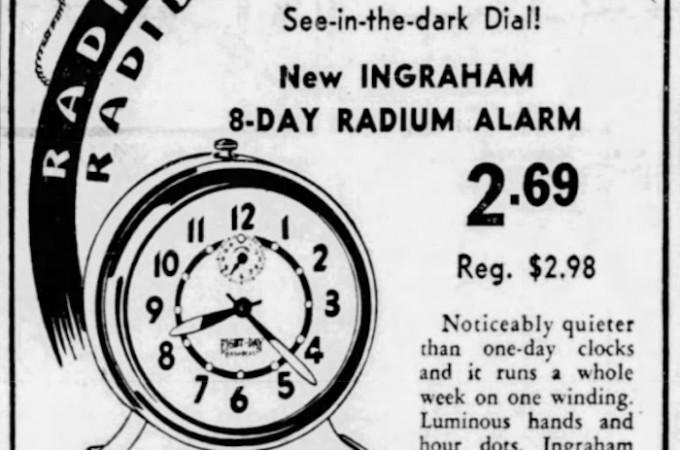 "Radium watches, radioactive soaps, and glowing toothpaste: How ""liquid sunshine"" killed hundreds of women"