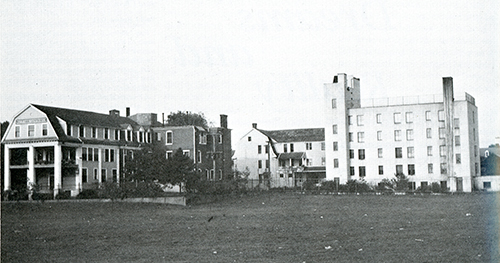 Dr. Meisenhelder's West Side Sanitarium as it looked in 1945. Submitted