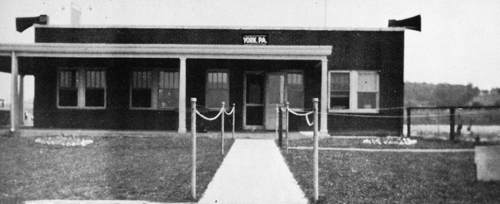 Administration Building of the original York Airport on Haines Road submitted