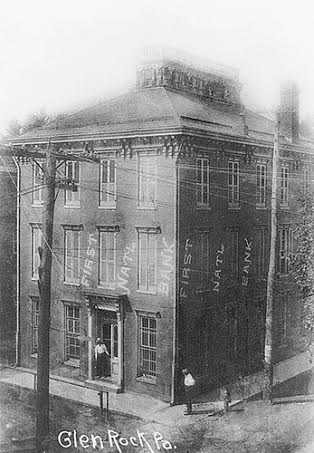 First National Bank, Glen Rock (PeoplesBank 150th Anniversary)Submitted