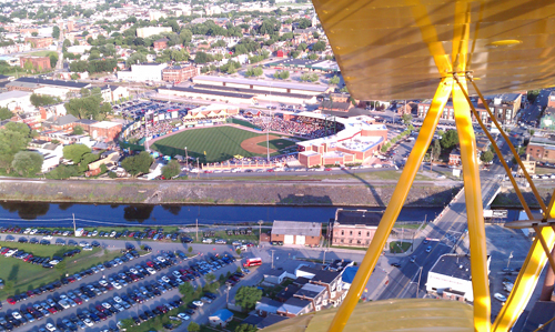 Ball park fly over (Jim McClure's blog) submitted