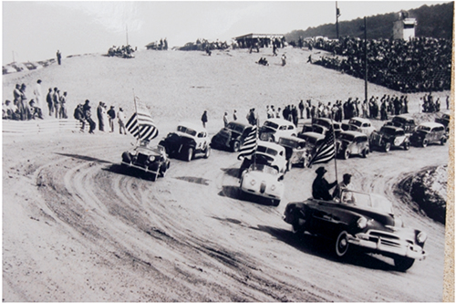 Bowling Green Speedway, Opening day - 1952. Submitted