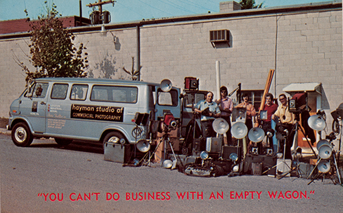 Hayman Studio Staff circa 1977. Submitted