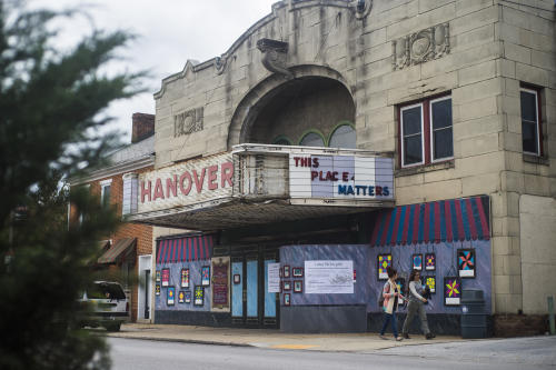 The Hanover State Theater seen on Wednesday Oct. 14, 2015 on Frederick Street in Hanover. Shane Dunlap - The Evening Sun