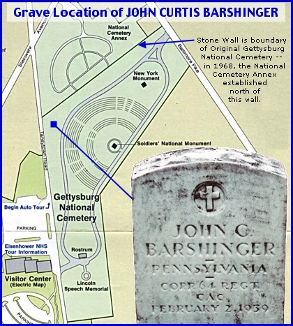 Dallastown Soldier buried in Gettysburg National Cemetery