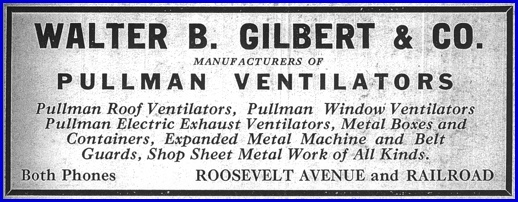 Ad for Pullman Ventilators from page 103 of Polk's York, Pennsylvania Directory of 1923-1924